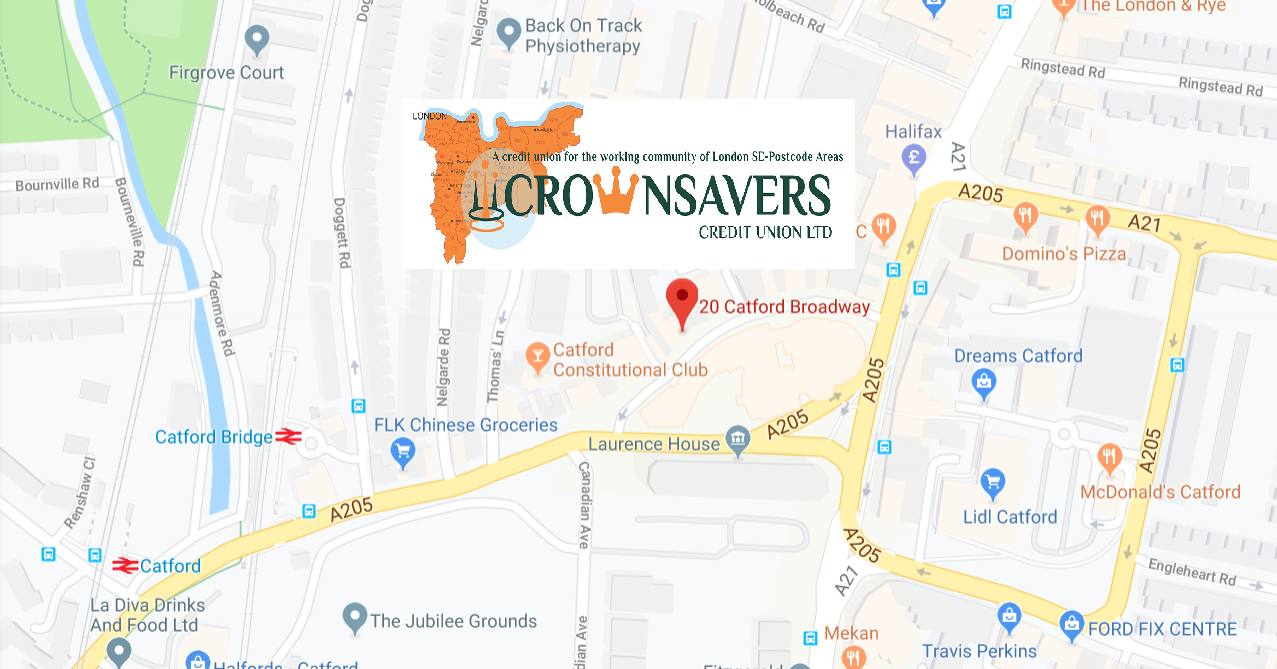 Crownsavers is moving - copyright Google 2019